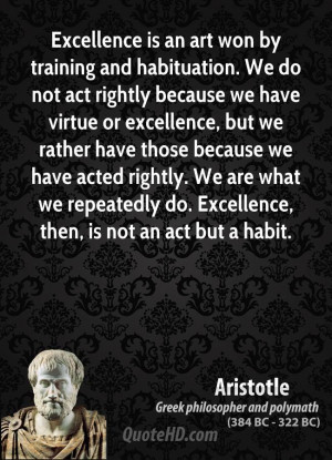 Aristotle Quotes Excellence (10)