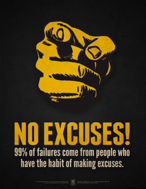 Nike No Excuses Wallpaper No excuses! by