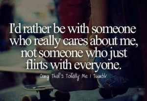 Someone who really cares!