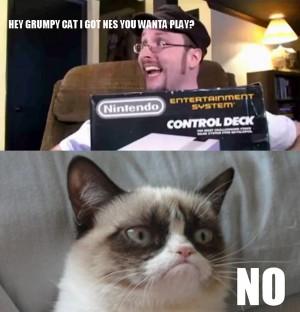 Grumpy Cat Meme...