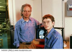 PHANToM inventors Ken Salisbury and Tom Massie