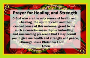 Prayer for healing and strength