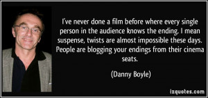 ve never done a film before where every single person in the ...