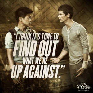 the maze runner movie quote 10 the maze runner film movie quotes
