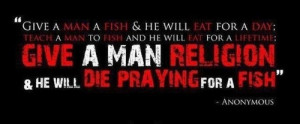 Give A Man A Fish & He Will Eat For A Day; Teach A Man To Fish And He ...