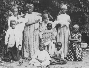 Mary Slessor, Scottish Missionary, in Onitsha, Nigeria 1910
