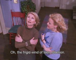 frigid wind of teen rebellion