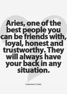 Aries Quotes and Sayings | Visit m.weheartit.com More