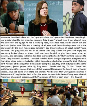 Freedom Writers | Erin Gruwell.