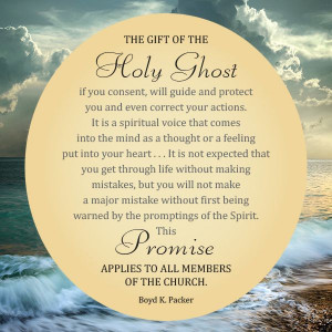 Holy Ghost Lds Quotes Quotesgram