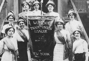Members of the Women's Trade Union League (WTUL)