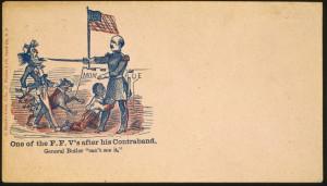 ... slave fleeing his master at Fort Monroe (VIrginia Historical Society