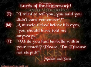 Maddox(keeper of Violence) and Ashlyn Darrow Story