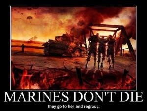 Marines don't die