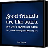 Messages Canvas Prints - Thats So True #quotes #life #friends Canvas ...