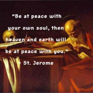 St. Jerome Quotes On Scripture   St.Jerome