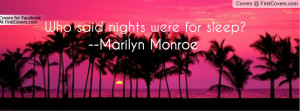 Pink Sunset Quote Profile Facebook Covers