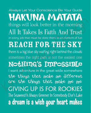 ... Disney Movie Quotes About Life ~ Good Inspirational Quotes Disney