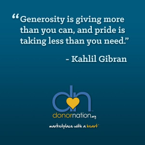 ... our favorite quotes about giving! #Philanthropy #Quotes #DonorNation