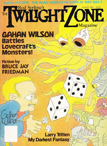 Zone Magazine 8 85 Mad Max 3 Gahan Wilson Bruce Jay Friedman L Tritten