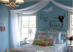 Quote It! - Dance Like No One Is Watching Wall Quote, Inspirational ...