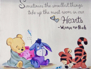 Winnie the Pooh Quote - Creative Canvas Paintings Artist: Jessica ...