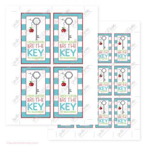 Printable Typewriter Keys