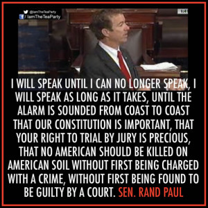 seriously want to see Rand Paul go for it with the next one.