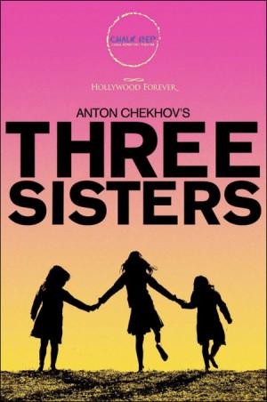 Three Cartoon Sisters Holding Hands Chekhov's three sisters,