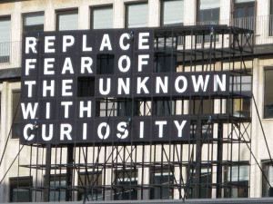 ... and using them in new ways. Curiosity is defined in the VIA as