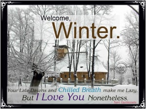Winter Quotes Graphics, Pictures