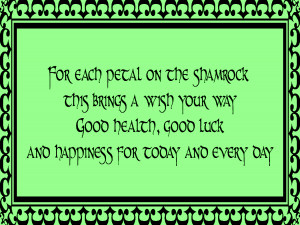 St. Patrick's Day Quotes Inspirational