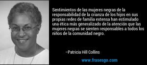 Patricia Hill Collins De patricia hill collins