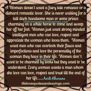 Women Want To Be Understood..