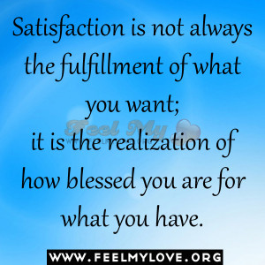 Posts Tagged 'satisfaction quotes