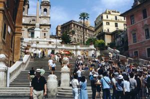 Rome Italy Travel - Hassler Hotel, Rome, Italy