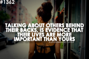 ... quotes back backstabbers gossip evidence important life life quotes