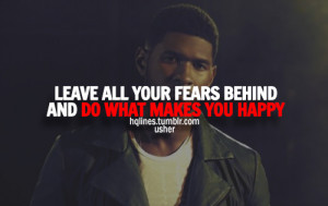 usher quotes about life