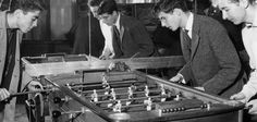 The history of foosball-- see here: http://j.mp/V4pnfi