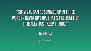 Inspirational Quotes On Survival