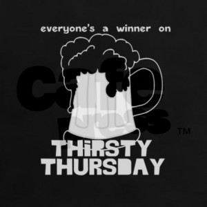 funny_thirsty_thursday_womens_dark_tshirt.jpg?color=Black&height=460 ...