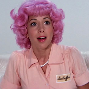movie grease pink hair pink lady pink ladies film still