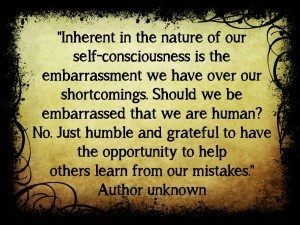 Learn from our mistakes.