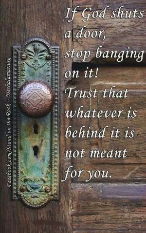 Trusting God's judgment