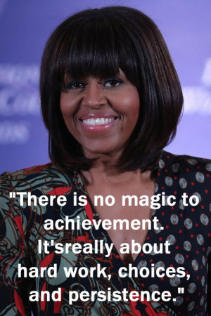 Inspirational Quotes From Michelle Obama