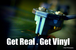 Get Real . Get Vinyl - Vinyl Quote