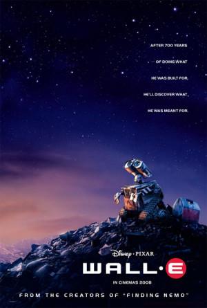 mejor película animada wall e 2008 andrew stanton