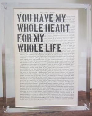 Dictionary Quotes - You Have My Whole Heart...