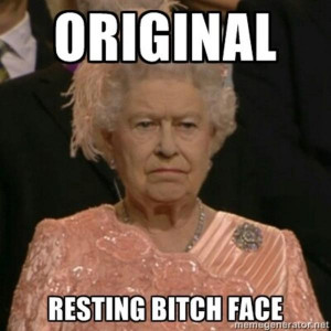 Queen of England Original | Resting Bitch Face | Know Your Meme