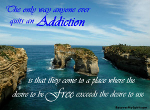Latest healing quotes for recovering addicts.